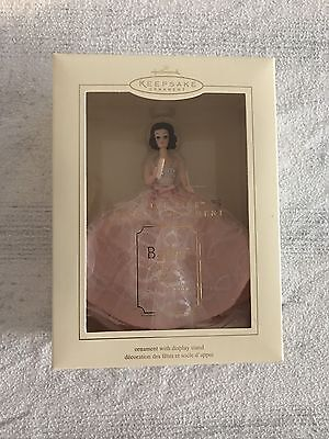 Barbie In The Pink Hallmark Ornament Fashion Model Collection New In Box