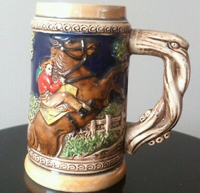 Vintage Collectable Ceramic Beer Stein - Excellent Condition