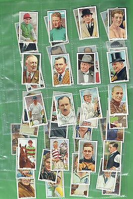 #t26.  Set(48)  Of 1936 Sporting Personalities Cigarette  Cards