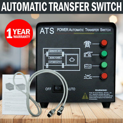 NEW Generator Auto Transfer Switch ATS Controller Module  Automatic Switch Power