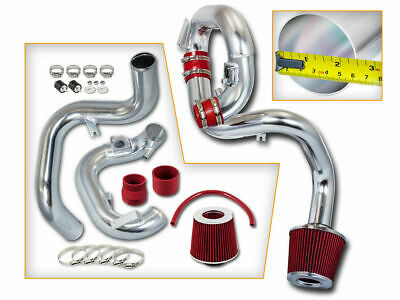 Cold Air Intake Kit//Red Cotton Cone Filter For Scion 04-06 xA 1NZFE Base 1.5L