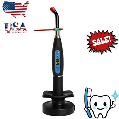 NEW Dental Curing Light Wireless Cordless 5W LED Curing Lamp LED.B 1500mw