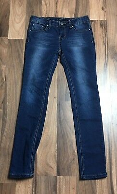 Juniors Girls Size 12 Vigoss Blue Skinny Jeans