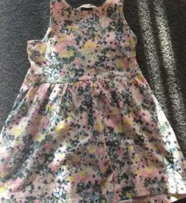 Girls H & M Dress Floral Size 2