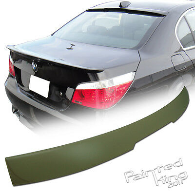 BMW E60 5er A Type Roof Spoiler Rear Wing 04-10 Unpainted