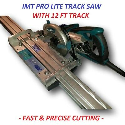IMT PRO LITE Makita motor Rail, Track Saw kit with 12 Ft track