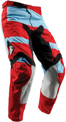 Thor S8 Pulse Level Pants Red/Blue 36 Red/Powder Blue 2901-6486