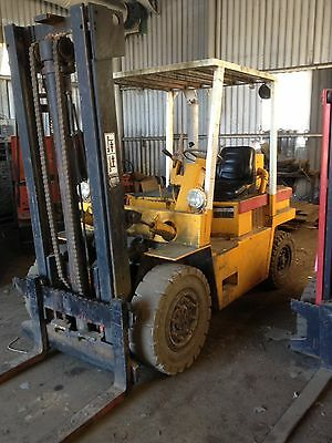 Lancer Boss HD 10C 10000lbs Diesel Forklift 5 Ton Lift Collect Chelmsford