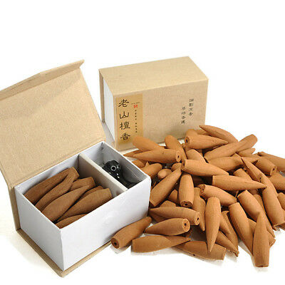 20Pcs Reflux Scents Tower incense Smoke Cone Tower Incense Backflow Bullet