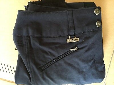 Blue Ladies Breeches Size 10-12