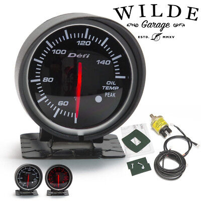 3x Link Meter BF DEFI STYLE GAUGE 60mm RED and WHITE Universal Fitment Kit