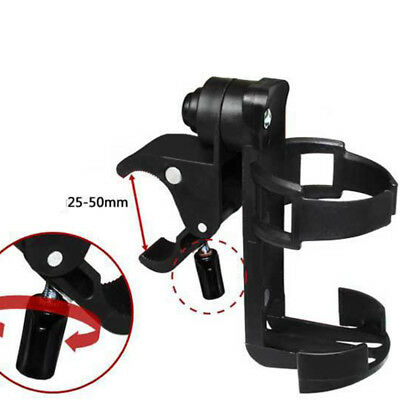 Universal Milk Bottle Cup Holder for Baby Stroller Pushchair Bicycle Buggy Black