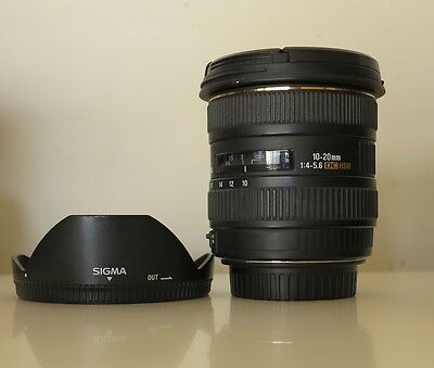 Sigma EX 10-20mm 1:4-5.6 DC HSM For Canon