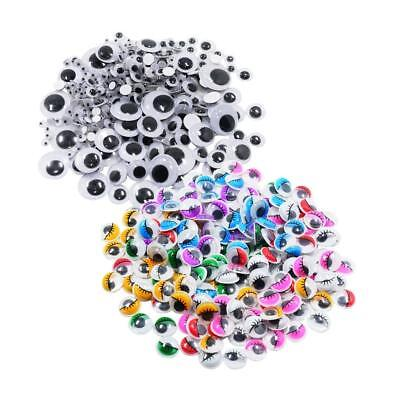476pcs Assorted Color & Size Googly Wiggly Eyes SELF ADHESIVE for DIY Crafts