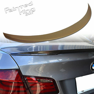 PKUK For BMW 3 Series F10 Boot Trunk Spoiler Rear Wing 2010-15 P Type Unpainted