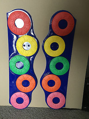 LIFESAVERS ~~~~~~Plastic Dress up kit for blue wire stand~~1990's