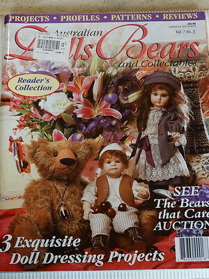 Dolls Bears and Collectables Magazine, Vol 7 No 3