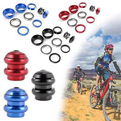 """THREADLESS BICYCLE HEADSET FOR 1 1/8"""" (28.6mm) FORKS MTB ROAD BIKE SCOOTER"""