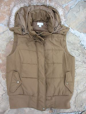 witchery puffer vest Size M