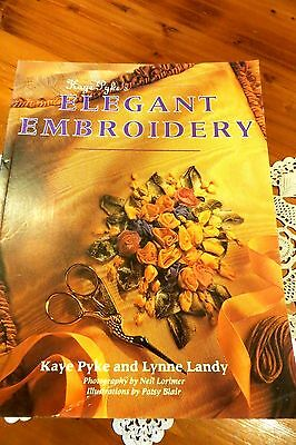 VINTAGE Style ~ Kaye Pyke's ~ RIBBON EMBROIDERY ~ CRAFT BOOK ~ REDUCED !!