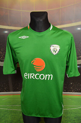Ireland Eire Umbro 2006-08 Home Football Soccer Shirt (Xl) Jersey Top Trikot Vtg