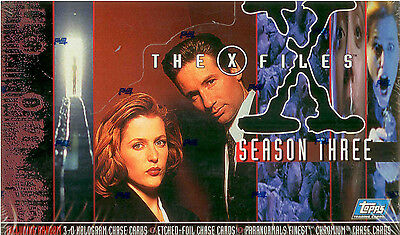X-Files Season 3 1996 Topps New Factory Sealed Trading Card Box Of 36 Packs