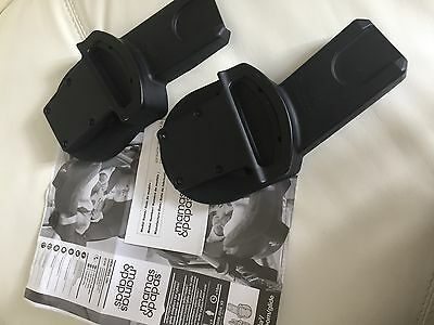 NEW Mamas & Papas car seat adapters fit urbo2 sola2,zoom & moove