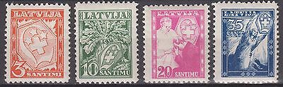 "Latvia - 1936 ""For the Benefit of the 'White Cross' Society"" (MNH)"