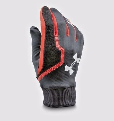 Under Armour Mens Engage Coldgear Infrared Running Gloves