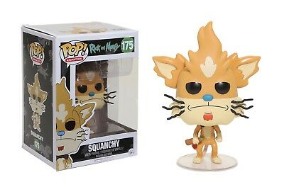 Funko Pop Animation: Rick and Morty - Squanchy Vinyl Figure Item No. 12444