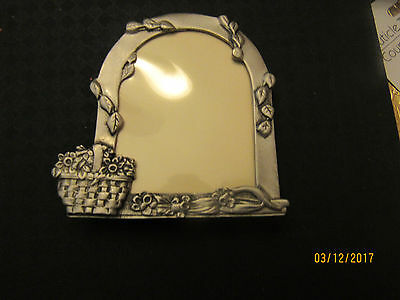 Longaberger  small pewter picture frame