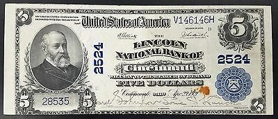 Series 1902 $5.00 National Currency, Lincoln National Bank of Cincinnati, Ohio
