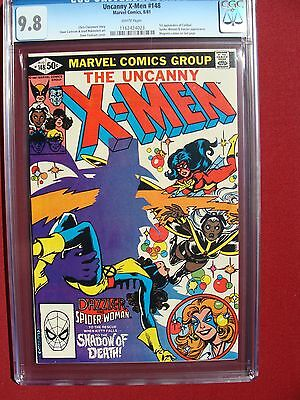The Uncanny X-Men #148 CGC 9.8 1ST APPEARANCE OF CALIBAN