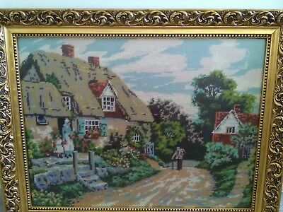 Tapestry Cottage  Framed picture
