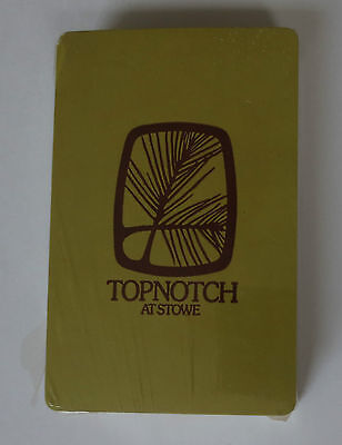 Vintage Unopened Deck of Topnotch at Stowe Playing Cards