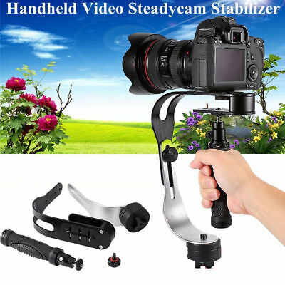 Black Handheld Steadycam Video Stabilizer for Camera Camcorder DV DSLR SLR Tool