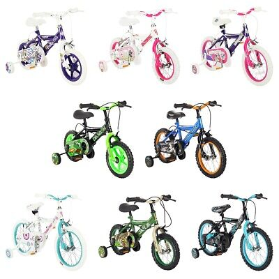 Pedal Pals 12/14/16 Girls/Boys Bike Choice of Model/Size/Colour