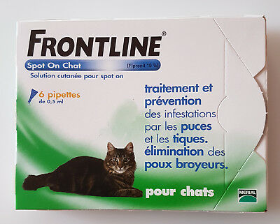 Frontline  Spot  On  Chat - 6  Pipettes