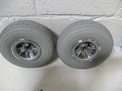 Shoprider Sovereign  Wheels and Tyres Front Pair