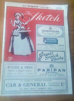 The Sketch magazine March 16th 1949