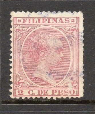 Philippines 1890s Classic Alfonso Used Value 2c. 182458