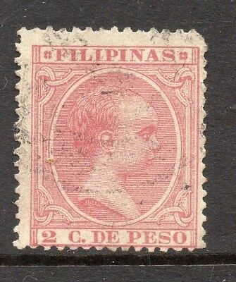 Philippines 1890s Classic Alfonso Used Value 2c. 182456