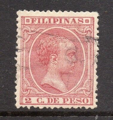 Philippines 1890s Classic Alfonso Used Value 2c. 182455