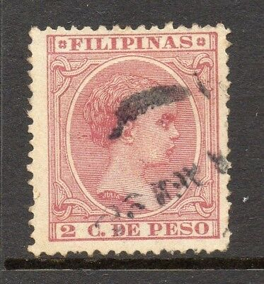 Philippines 1890s Classic Alfonso Used Value 2c. 182451