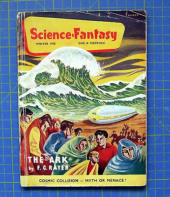 Science Fantasy Vol.1 No.2 Very rare early issues British Pulp.Collector's item