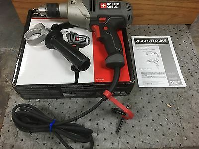 "Porter Cable 1/2"" Electric VSR Drill / Driver 800 RPM 7 Amp 120v"