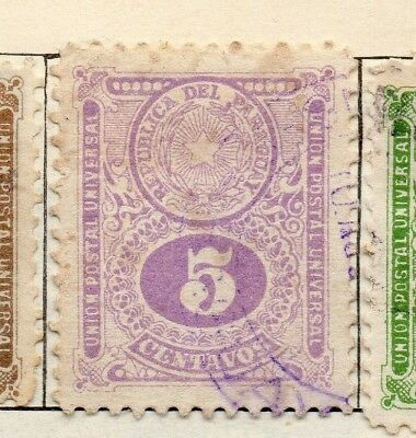 Paraguay 1910 Early Issue Fine Used 5c. 181451