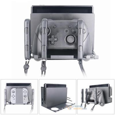 Wall Mount Stand Holder Bracket for Nintendo Switch Console Game Controller