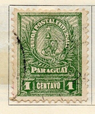 Paraguay 1901-02 Early Issue Fine Used 1c. 181409