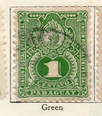 Paraguay 1889-93 Early Issue Fine Used 1c. 181394